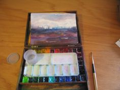 How to Make a POCHADE BOX for Painting Plein Air with Watercolor in 14 Easy Steps | Alaskan Raven Studio