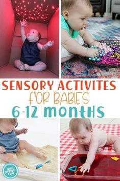 Sensory Activities 6-12 Months - Little Learning Club