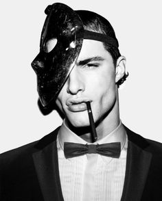 Mens Masquerade and Venetian Masks White Photography, Fashion Photography, Beautiful Men, Beautiful People, Masked Man, Masquerade Party, Masquerade Men, Venetian Masks, Comme Des Garcons