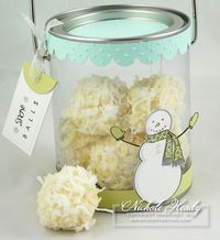 coconut truffles---need to make these for Christmas gifts... 1/3 cup plus 2 tablespoons heavy cream 1/4 cup unsalted butter 1 teaspoon almond extract 12 ounces high quality white chocolate, divided 1/2 cup powdered sugar, sifted 1 cup shredded coconut flakes