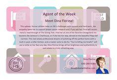 Meet Dina Florina our agent of the week!  #DealWithDina #Realtor