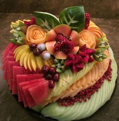 Pri Hadar, Exquisite Fruit Platters for any Occasion, in Monsey NY Fruit Buffet, Fruit Trays, Fruit Snacks, Kosher Gift Baskets, Fruits Decoration, Deco Fruit, Fruit Creations, Fruit And Vegetable Carving, Food Carving