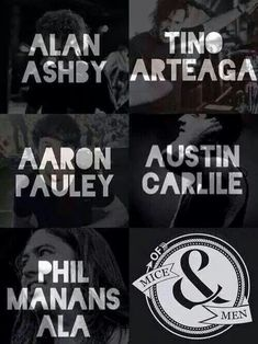 the amazing guys that make up Of Mice  Men! id also like to give credit to shayley Bourget