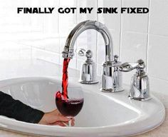 """The plumber is coming to help me install my new sinks this week, bathroom and kitchen, he is a dead ringer for Walt """"Longmire""""."""
