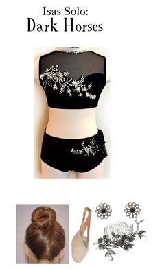 """0551. Isas Solo"" by hiimmichelle ❤ liked on Polyvore featuring Bloch and claire's"