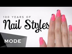 Nice Engagement Rings Trends Here's 100 Years Of Nail Art In Just Two Minutes Check more at http://24store.ml/fashion/engagement-rings-trends-heres-100-years-of-nail-art-in-just-two-minutes/