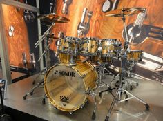 Sonor SQ2 drum kit.