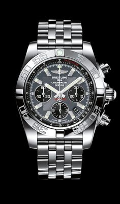 Continue to familiarize yourself with the Breitling Chronomat 44 collection.the journey goes on until you find yours! Dream Watches, Fine Watches, Men's Watches, Cool Watches, Fashion Watches, Breitling Chronomat, Breitling Watches, Diesel Watches For Men, Luxury Watches For Men