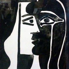 Pablo Picasso, Tete Du Femme available at Pablo Picasso, Kunst Picasso, Picasso Drawing, Picasso Art, Picasso Paintings, Art Espagnole, Arte Latina, Art Africain, Art Moderne