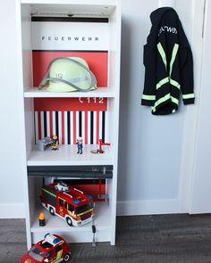 Playmobil Feuerwehrstation basteln Kundenfoto Limmaland-08. www.limmaland.com