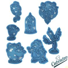 Beauty and the Beast cookie cutters pack