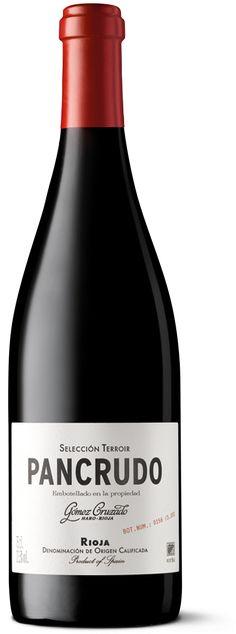 Vino Pancrudo Gómez Cruzado, Rioja