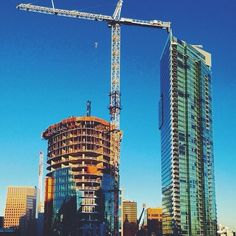 Construction on Trump International Hotel & Tower Vancouver