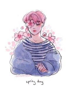 Bts And Jimin Image Source Bts Cute Drawings Jimin Png Image Fanart Jimin Bts Bts Drawings B. Yoonmin Fanart, Jimin Fanart, Kpop Fanart, Bts Chibi, Bts Spring Day, Bts Drawings, Fan Art, Bts Fans, Animation