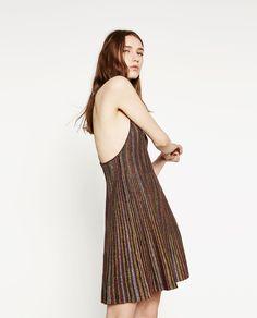 Image 2 of MULTI-COLOURED DRESS from Zara