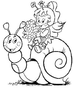 10 Amazing Snail Coloring Pages For Your Toddler  Snail Child