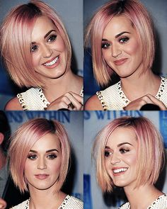 I love Katy Perry's new look i wish i could do this  :)