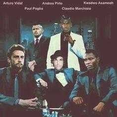 Marchisio - pirlo - asamoah - pogba - vidal