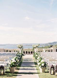 Wedding Venue: Villa Del Lago - http://www.stylemepretty.com/portfolio/villa-del-lago Photography: Mint Photography - www.mymintphotography.com Assistant Photography: Natalie Jo Weddings  -    Read More on SMP: http://www.stylemepretty.com/2017/01/12/this-wedding-will-make-you-fall-ever-so-hard-for-green-garland/