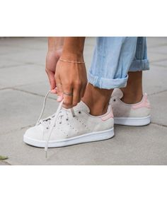 2bd9adfbe2bb Adidas Stan Smith W Peach White Vapour Pink Trainers Stan Smith Trainers