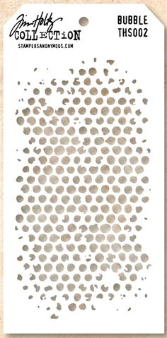 New Product Alert!  Tim Holtz Stencils In Stock Now!