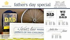 Father's Day special! These and other expressions and accessories can be ordered from http://js1.uppercaseliving.net/