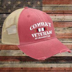 Afghanistan Veteran OEF Trucker Hat
