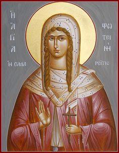 St. Photini by Julia Bridget Hayes