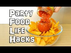 Party Food Life Hacks - YouTube