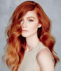 Velvety Auburn Hair Color Ideas