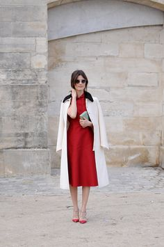 red + cream :: Hanneli Mustaparta :: Valentino