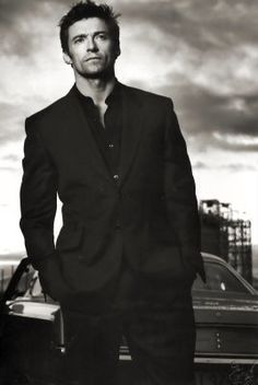 Hugh Jackman - one of the few guys I find amazingly hot both cleaned up AND scruffy