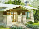 """The Perfect Little House is brainchild of award-winning architect Peter Brachvogel, AIA, founded on the notion that building your perfect custom home is not only possible but affordable too.  With an wide array of plans, you can find a design to reflect your tastes, you can get customizing the plan too - wherever you are.  """"The Elm"""" shown. Located in Bainbridge Island, Vancouver, neat designs"""