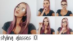 STYLING GLASSES 101 featuring frames from glassesusa.com