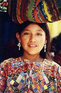 Junge Frau aus #Guatemala