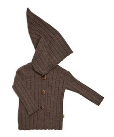 Take a look at this Cocoa Merino Ribbed Jacket - Infant & Kids by Nui Organics on #zulily today!