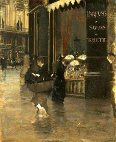 Giuseppe De Nittis, La Parfumerie Violet(1880)