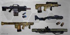 Grenade/Missile Launcher concepts by ianllanas on DeviantArt