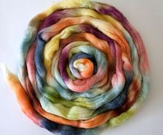 Bluefaced Leicester combed top 'Bags of by ArtistsPaletteYarns