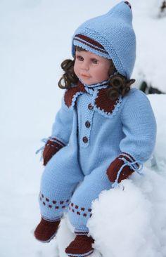 Doll knitting pattern