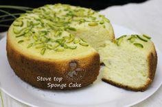 No baking powder stove top cake