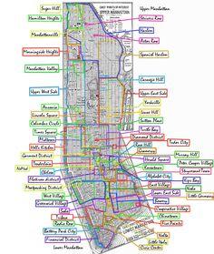 New York City Map Manhattan   Manhattan Tourist Map See map details ...