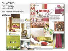 New Woman Magazine - INDIA APRIL#2016 #AlhambraInternacional, #Allure