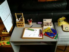 language centre for Montessori preschooler