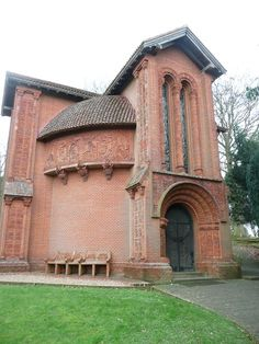 MARY WATTS CHAPEL THIS IS A MUST SEE IN YOUR LIFETIME........AMAZING!!