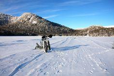 Fat bike   Vélo en hiver   Vallée Bras-du-Nord