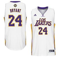 cb800fe43 Discover the Kobe Bryant Los Angeles Lakers Noches Enebea Swingman Home  White Jersey Top Deals HRFRftM group at Footseek. Shop Kobe Bryant Los  Angeles ...