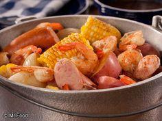 Low Country Shrimp Boil | mrfood.com