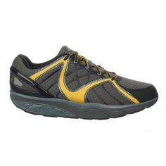 Men's Jengo 5 Sport Neutral Lace Up Volcano Gray / Black / Mustard
