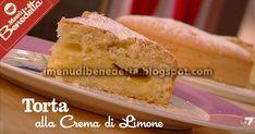 Torta con Crema al Limone (senza latticini) | la ricetta di Benedetta Parodi